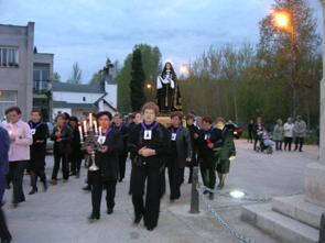 foto de la procesión