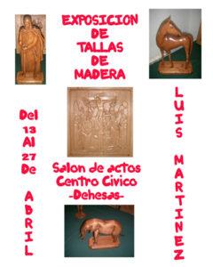 Cartel tallas de madera