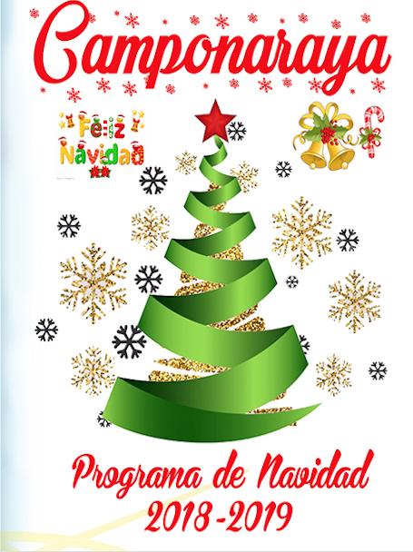 Carte Navidad Camponaraya 2018