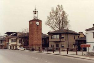 La torre del reloj de Camponaraya